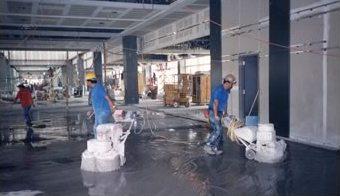 Terrazzo Install Grinding
